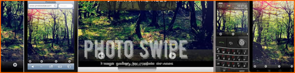 Photo Gallery for Mobile Devices - Photo Swipe