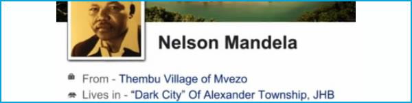 Nelson Mandela - Life through Social Media