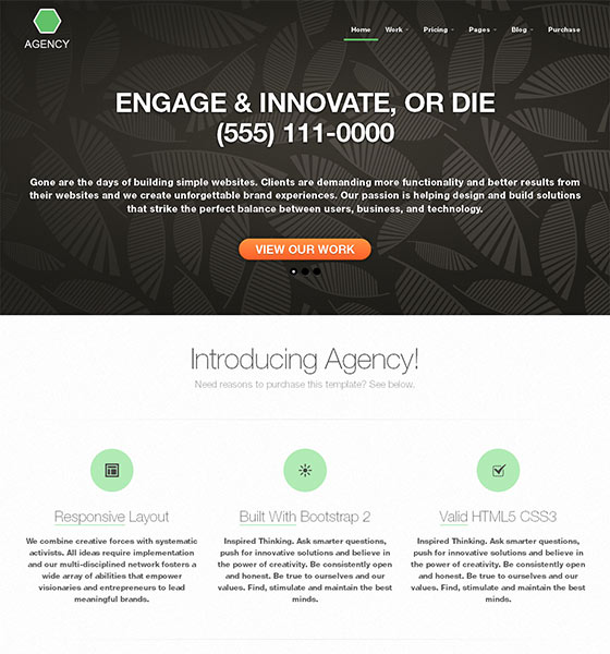 20 Free HTML5 Responsive Templates with Beautiful DesignsWeb Design ...